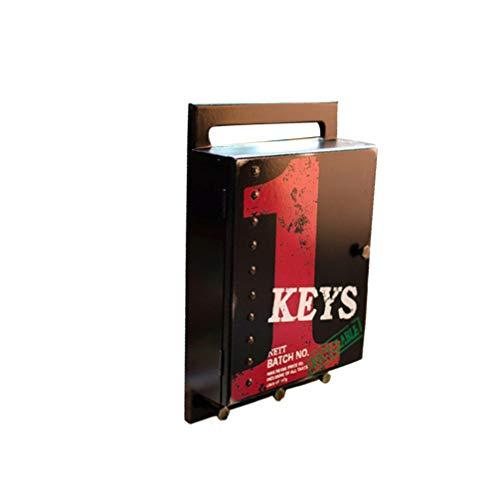 Yarnow Soporte de Almacenamiento para Llaves Caja de Llaves para Puerta de Entrada Pasillo Cocina Oficina