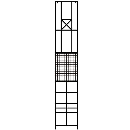 Dzwyc Creatividad Cubo Hierro Planta Soporte al Aire Libre Adornos de Interior plantador Stop Stand para la Sala de Estar de la Sala de Estar de la Sala de Almacenamiento Plantilla (Color : A)