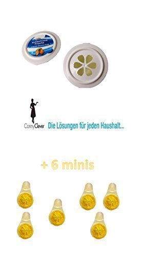 Kühlschrank Lufterfrischer frischen Zitronenduft + 6 Duftzitronen für Ihren Geschirrspüler
