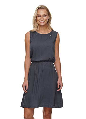 Ragwear Kimmie Frauen Kurzes Kleid dunkelgrau S