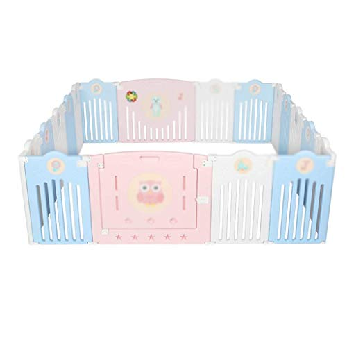 Fantastic Prices! LXJJGF Childrail, Baby Fence Castle and Baby Fence Panel and Activity Panel (Color : E)