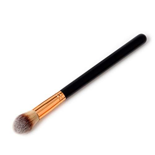 Kongqiabona-UK Pinceau de Maquillage à poignée Droite Outil de Brosse à Poudre de Fond de Teint cosmétique