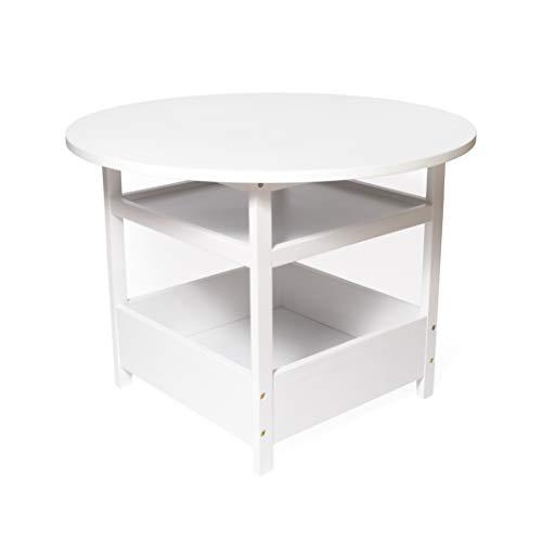 Lipper International Child's White Activity Table Tavolo, Multi Color
