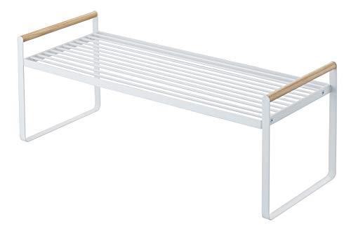 YAMAZAKI Tosca Küchenregal, Stahl, Weiß