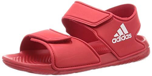 adidas ALTASWIM C, Scarpe da Ginnastica, Scarlet/Ftwr White/Scarlet, 33 EU