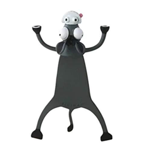Proglam Wacky Lesezeichen für mehr Spaß beim Lesen, 3D Stereo Cartoon Lovely Animal Lesezeichen Wacky Lesezeichen