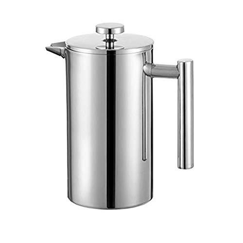 Fablcrew - Cafetera de pistón , filtro de café, cafetera de prensa francesa para café y té, 350 ml