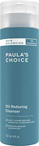 Paula's Choice Skin Balancing Licht Schuimende Gezichtsreiniger - Face Wash Verwijdert Overtollig Talg & Make-up - Gaat Puistjes & Mee-eters Tegen - met Aloë Vera - Gecombineerde tot Vette Huid - 237 ml