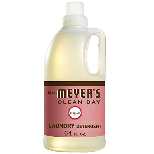 Mrs. Meyer's Clean Day Laundry Detergent, Rosemary Scent, 64 ounce bottle