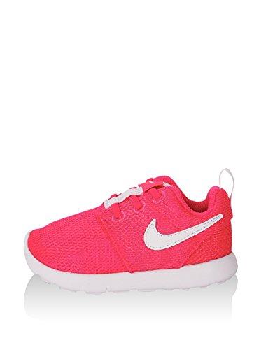 Nike Nike Jungen Unisex-Kinder Roshe One (TDV) Sneaker, pink/weiß, 22 EU