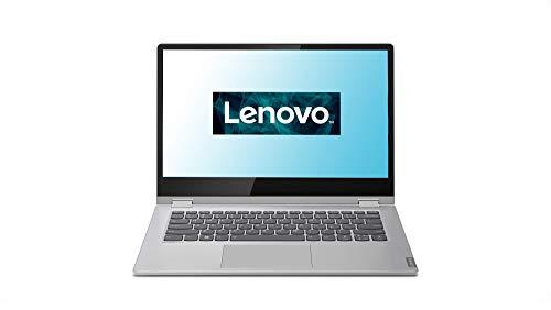 Lenovo IdeaPad C340 Laptop 35,6 cm (14 Zoll, 1920x1080, Full HD, Touch) Convertible Notebook (AMD Athlon 300U, 4GB RAM, 128GB SSD, AMD Radeon Vega 3 Grafik, Windows 10 Home S) silber
