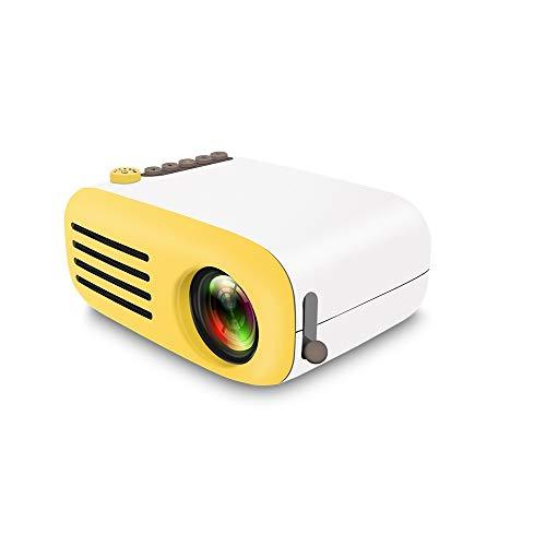 Mini Proyector, Pico Proyector LED, Mini Proyector Con USB HDMI, Soporta Smartphone PC Portátil para Videojuegos, Películas