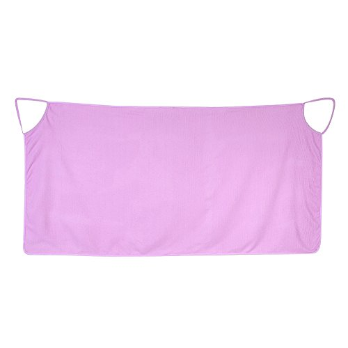 Szlafrok Damski Miękka Mikrofibra Ciepły Przenośny Ręcznik Kąpielowy Spa Wrap Szlafroki Wygodna Spódnica Kąpielowa Bielizna Nocna (Fioletowa)