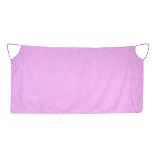 PLLO Falda de baño, Toalla de baño de SPA súper Suave, Toallas con Correas de Hombro Toalla de baño de Playa Multifuncional, para Ducha de SPA(Purple)