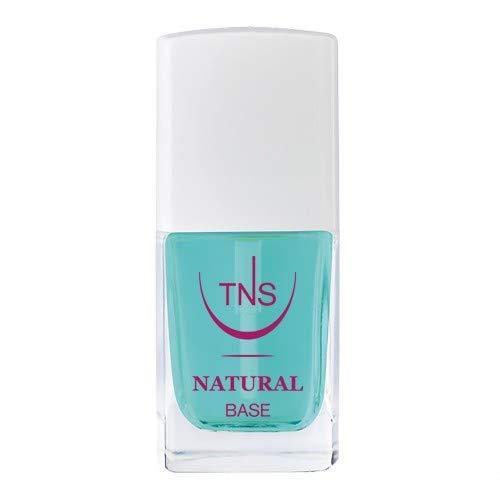 TNS Cosmetics - Natural Base - Base smalto rinforzante e protettiva, previene lo sfaldamento e la rottura dell unghia - 10 ml