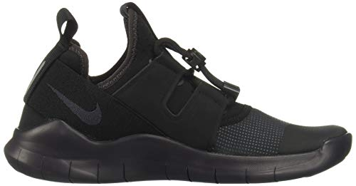 Nike Wmns Nike Free Rn Cmtr 2018, Women's Competition Running Shoes, Multicolour (Black/Oil Grey 002), 4.5 UK (38 EU)