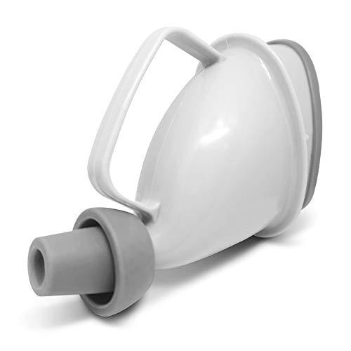 ZenMedix Premium Urinal für Frauen I Kompakter Urinbeutel für unterwegs I Praktische Pinkelhilfe