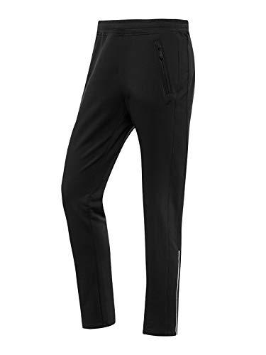 Joy Sportswear Mathis Herren-Trainingshose als Begleiter fürs Gym oder Outdoor-Sport, Lange Herren-Hose mit Komfortbund und Innenkordel Normalgröße, 50, Black