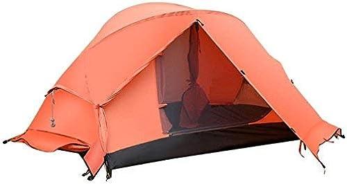GZZ Guo Outdoor Products Outdoor 2 Personnes utilisent des tentes, Abat-Jour imperméable en Polyester, Ventilation de Fil Net, tentes portatives