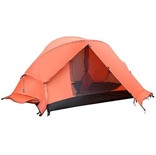 RYP Guo Outdoor Products Outdoor 2 Personnes utilisent des tentes, Abat-Jour imperméable en Polyester, Ventilation de Fil Net, tentes portatives,2 Personnes,Orange