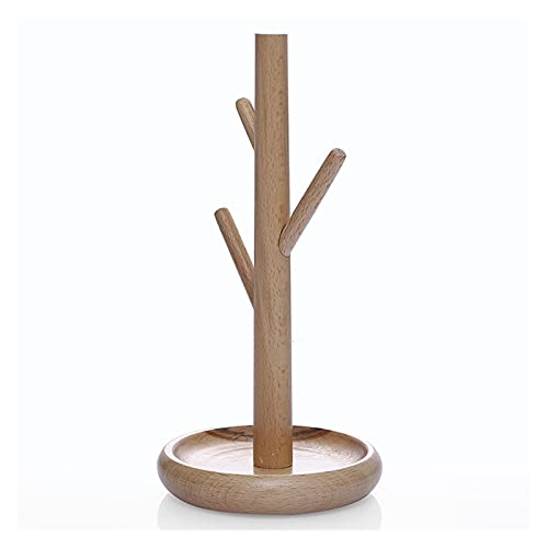 XIAOFANG Soporte de exhibición de la joyería, árbol de joyería de Madera, para Collares, Pulseras, Pendientes, tachas, Anillos, Idea de Regalo (Color : As Shown)