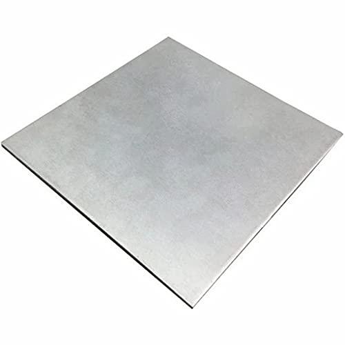 Chapa de titanio de 1 mm de grosor, chapa de zinc y titanio,