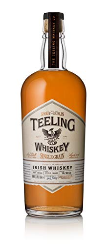 Teeling Single Grain Irish Whiskey mit Geschenkverpackung (1 x 0,7 l)
