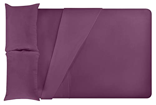 LuxClub Bamboo Sheet Set - Bamboo - Eco Friendly, Wrinkle Free, Hypoallergenic, Antibacterial, Moisture Wicking, Fade Resistant, Silky, Stronger & Softer than Cotton - Eggplant - California King