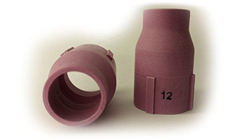 1 Keramische Jumbo Gasdüse XL Gr.12L 19,5mm für SR17 SR18 SR26 HP17 WP18 SR-26 TIG/WIG Brenner