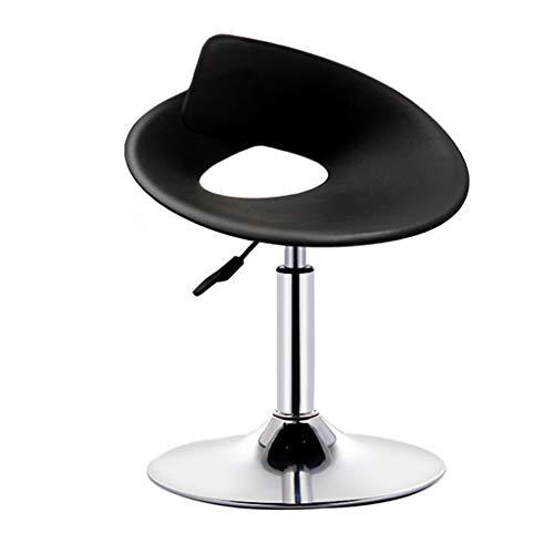 Chaise de table chaise de bar personnalisée chaise d'ascenseur tabouret haut de restaurant élégant tabouret de bar à la maison tabouret haut de café (Color : Black, Size : B)