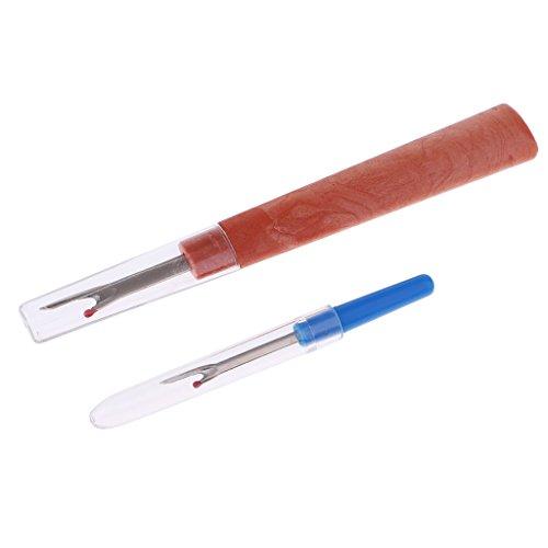 Hellery 2pcs / Set Seam Ripper Stitch Picker Unpicker Strumento Per Cucire