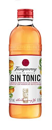 Tanqueray Flor de Sevilla Gin & Tonic, Bebida Preparada de Ginebra y Tónica - 275 ml