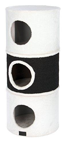 Kerbl Niki Scratch Barrel, 37,5/90 cm, Blanco/Antracita