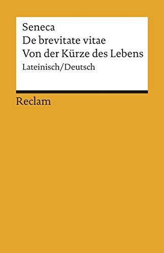 De brevitate vitae / Von der Kürze des Lebens: 18545