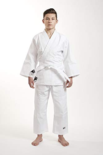 Ippon Gear Kinder Judoanzug Beginner, Weiß, 140