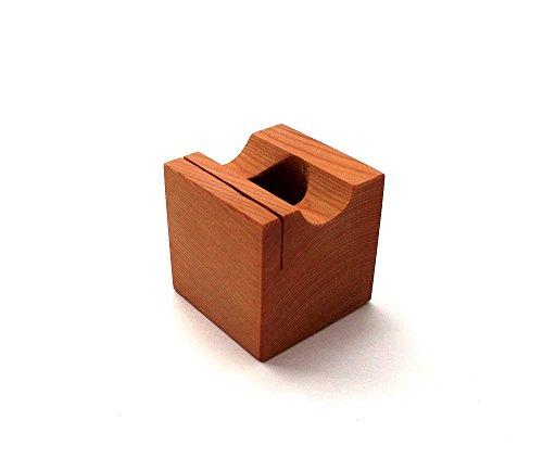 MokuPro 木製ペンスタンド 無垢材(イチイ材)【 ONE-PEN-STAND 】 1本用ペン・メモ・カードスタンド 全3種類