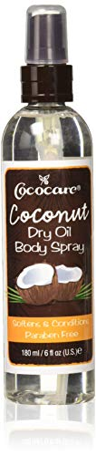 Cococare Coconut Dry Oil Body Spray, 6 Oz