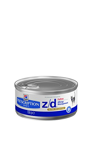 Hill's Prescr Diet Feline z/d ULTRA Allergen-Free 12 x 156 g canned