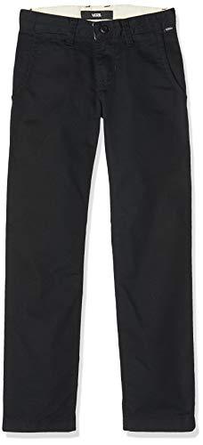 Vans Jungen Authentic Chino Stretch Boys Hose, Schwarz (Black Blk), Medium (Herstellergröße: 26)