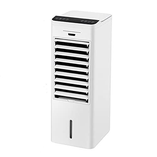 LYLFF Refrigerador De Aire Portátil 10000BTU, 3 Velocidades De Ventilador, Pantalla LED Y Control Táctil De Control Remoto Y Temporizador De 12H, 65 Vatios, Clase De Ahorro De Energía A