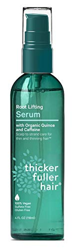 Thicker Fuller Hair Serum Root Lifting Sulfate Free 4 Ounce (Pack of 2)
