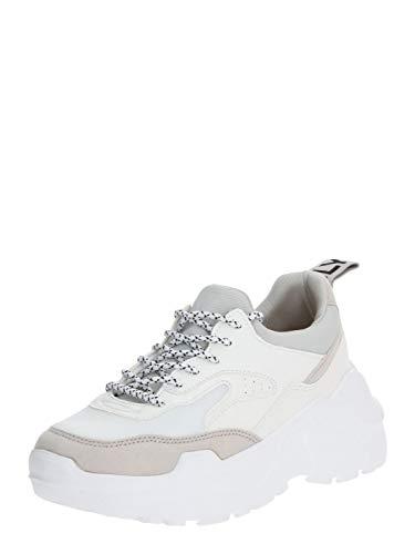 ONLY Zapatillas ONLSILVA PU Chunky Sneaker para Mujer Mujer Color: White Talla: 41