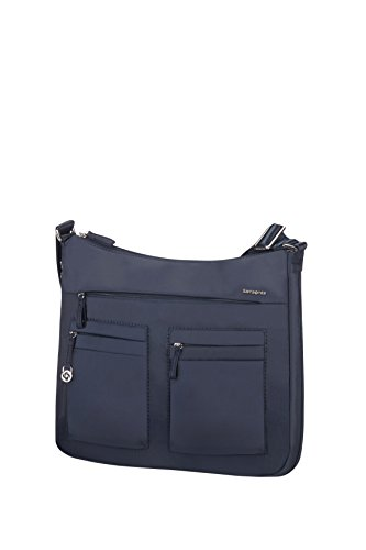 Samsonite Move 2.0 Hobo M Exp Bolso Bandolera, 6.48 litros, Color Azul Oscuro