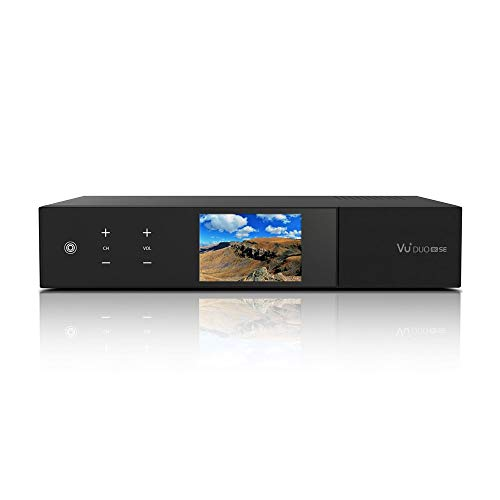 VU+ Duo 4K SE 1x DVB-S2X FBC Twin / 1x DVB-T2 Dual Tuner PVR Ready Linux Receiver UHD 2160p