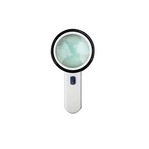 ZHENYANG Lupa HD: Reparación Ampliada del Espejo 30 Veces La Lupa De Lectura De Lentes Ópticas De Mano HD Lupa de Lectura