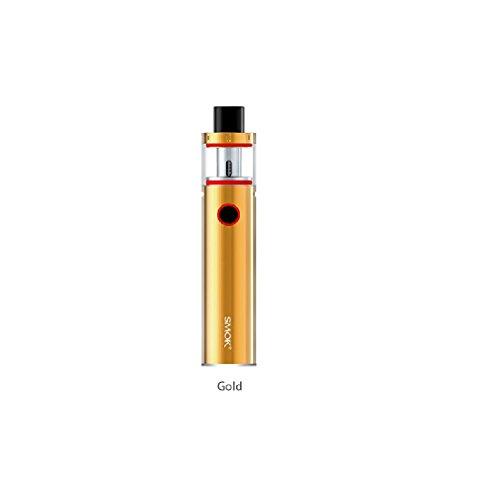 SMOK Vape Pen 22 kit 1650 mAh batería E-Cigarette (Oro) Smoktech, Este producto no contiene nicotina o tabaco