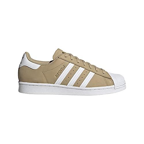 adidas Superstar, Zapatillas Deportivas Hombre, Beige Tone FTWR White Gold Met, 46 EU