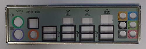 Gigabyte GA-MA770T-UD3P Rev.1.0 Blende - Slotblech - IO Shield #35997