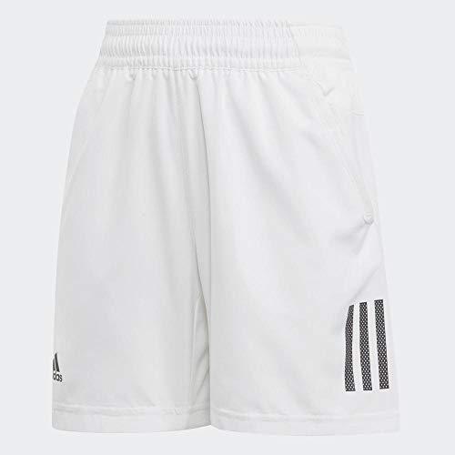 adidas B Club 3S Short Pantalones Cortos, Niños, Blanco (White/Black), 9-10 Y 140