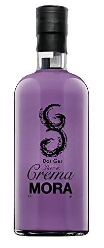 Licor Crema Mora Dos Ges 15º de 0,7L. Irresistible y cremoso sabor que la hacen inigualable.